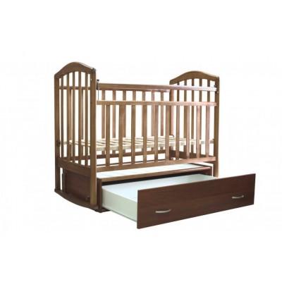 Детская кроватка Антел Алита 6 (Бук, Орех) фото