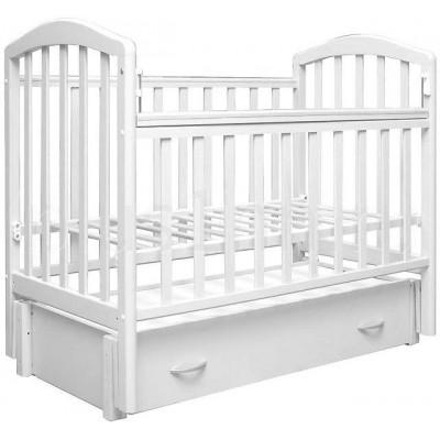 Детская кроватка Антел Алита 6 (Белый, Слоновая кость) фото