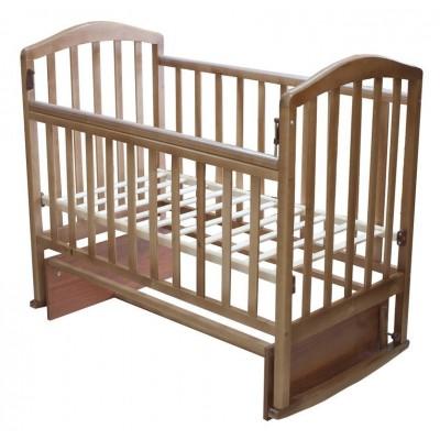 Детская кроватка Антел Алита 3 (Бук, Орех) фото