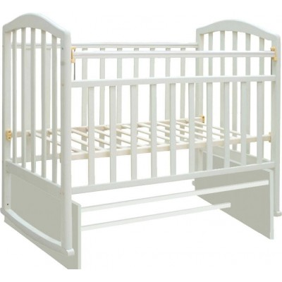 Детская кроватка Антел Алита 3 (Белый, Слоновая кость)