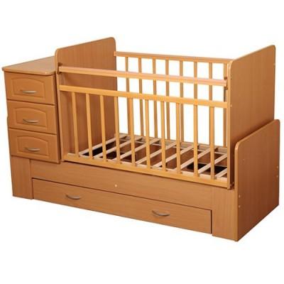 Кровать-трансформер Антел Ульяна 1 (Клен,Бук, Яблоня локарно, Орех экко)