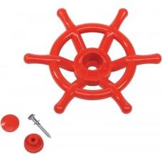 Штурвал игровой Boat для детских площадок KBT (красный)