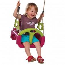 Детские качели KBT Trix 3в1 (фиолетовый/салатовый)