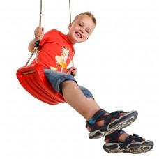 Детские подвесные качели KBT Standart (красный)