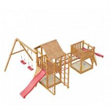 Детская деревянная площадка Сет Сибирика спорт мини