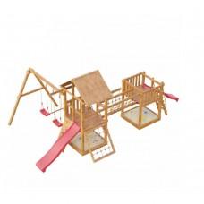 Детская деревянная площадка Сет Сибирика сетка мини