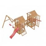 Детская деревянная площадка Сет Сибирика сетка старт
