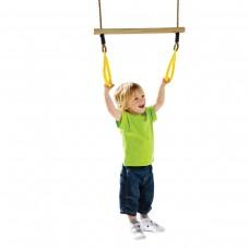 Трапеция с кольцами для детской площадки KBT (желтый)
