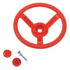 Руль игровой для детских площадок KBT (красный)