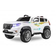 Детский электромобиль Kids Care Toyota Land Cruiser Prado 4x4 (белый)