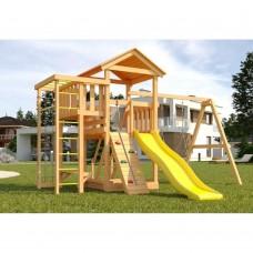 Детская площадка Савушка Мастер - 3 с качелями Гнездо