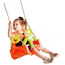 Детские качели KBT Trix 3в1 (оранжевый/салатовый)