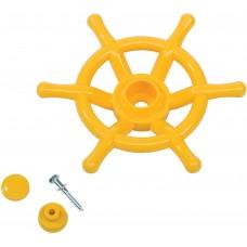 Штурвал игровой Boat для детских площадок KBT (желтый)