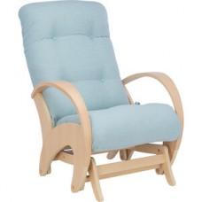Кресло-качалка глайдер Импэкс Эстет натуральное дерево ткань Melva 70