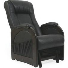 Кресло-качалка глайдер Импэкс Модель 48 венге без лозы, обивка Dundi 109