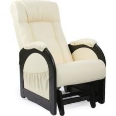 Кресло-качалка глайдер Импэкс Модель 48 венге без лозы, обивка Dundi 112