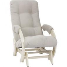 Кресло-качалка глайдер Импэкс модель 68 дуб шампань, Verona light grey