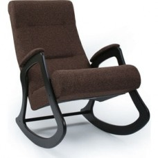Кресло-качалка Импэкс Модель 2 венге, обивка Malta 15 А