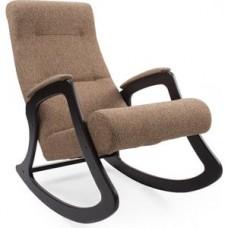 Кресло-качалка Импэкс Модель 2 венге, обивка Malta 17