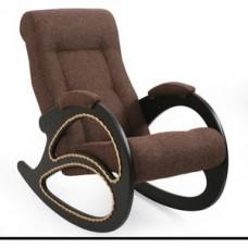 Кресло-качалка Импэкс Модель 4 венге, обивка Malta 15 А