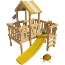 Детская игровая кровать чердак Скуби