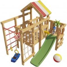 Детская игровая кровать чердак Соник