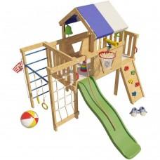 Детская игровая кровать чердак Винни