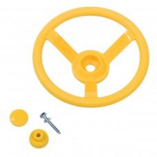 Руль игровой для детских площадок KBT (желтый)