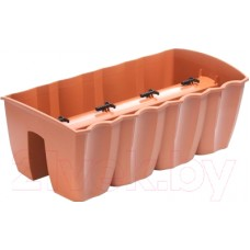 Кашпо Prosperplast Crown DCRO600-R624 (коричневый)