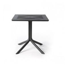 Стол ClipX 70х70 графит