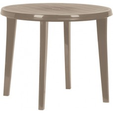 Стол круглый Lisa d90cm капучино