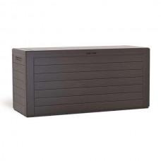 Сундук пластиковый Woodebox коричневый