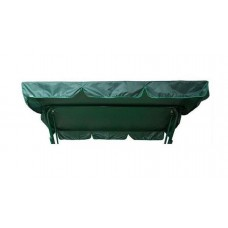 Тент-крыша для садовых качелей Olsa Люкс-2 зеленый оксфорд