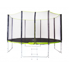 Батут Fitness Trampoline GREEN 10 FT PRO (4 опоры)