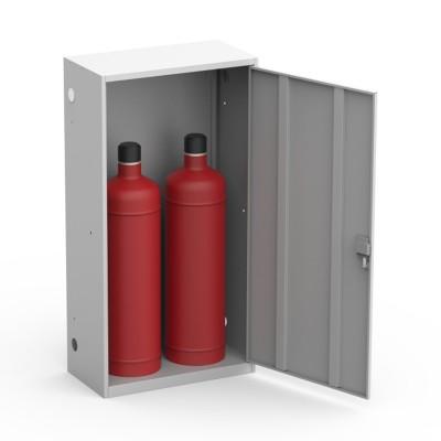Ящик для двух газовых баллонов Металл-Завод ШГР 50-2 серый фото