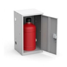 Ящик для газового баллона Металл-Завод ШГР 27-1-4 (27л) серый