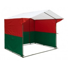 "Палатка ""Домик"" 3,0х3,0 К (каркас из квадратной трубы 20х20 мм, тент - ПВХ 650 гр. м2)"