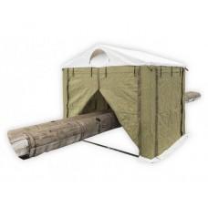Палатка сварщика 2.5х2.5 (ПВХ+брезент)                                                                        Каркас усиленный. В комплекте 4 стенки.