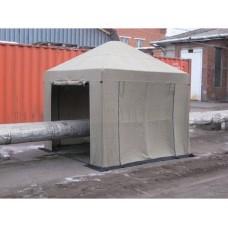 Палатка сварщика 3.0х3.0 (брезент)                                                                                     Каркас усиленный. В комплекте 4 стенки.