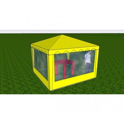 Стенка с окном 2,0х2,0 (к шатру Митек 6-граней)