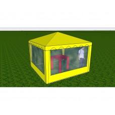 Стенка с окном 2,5х2,0 (к шатру Митек 2,5 х 2,5  и  5 х 2.5)