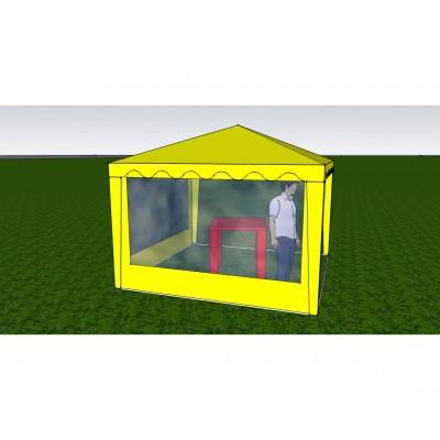 Стенка с окном 3,0х2,0 (к шатру Митек 3 х 3  и  6 х 3)