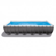 Каркасный бассейн Intex 26368 ULTRA XTR™ PREMIUM 732х366х132см +фильтр-насос с хлоргенератором 6000 л.ч, лестница, тент, подложка, набор для чистки, в