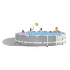 Каркасный бассейн Intex 26756 PRISM FRAME 610x132см +фильтр-насос 5678 л/ч