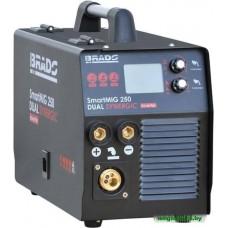 Аппарат сварочный BRADO SmartMIG 250 Dual Synergic