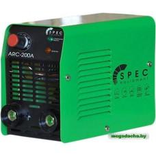 Аппарат сварочный инверторный SPEC ARC-200A