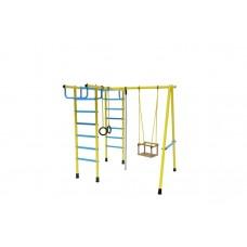 Уличный спортивный комплекс Лидер Д2-04 голубой/жёлтый