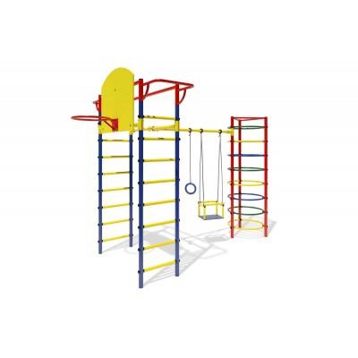 """ДСК """"Маугли - 11-03"""" синий с жёлтыми ступенями фото"""