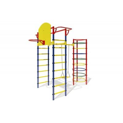 """ДСК """"Маугли - 12-03"""" синий с жёлтыми ступенями"""