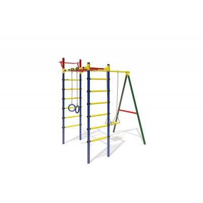 """ДСК """"Маугли - 14-03"""" синий с жёлтыми ступенями"""